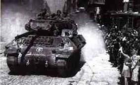 1944 : Recit d'arrivée sur Chartres Chartres